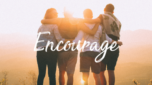 This Week - Tuesday - Encouraging One Another in Community